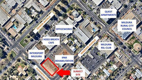 Development / Land commercial property for lease at 159-163 Madden  Avenue Mildura VIC 3500