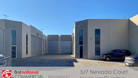 Factory, Warehouse & Industrial commercial property for lease at 5/7 Nevada Court Hoppers Crossing VIC 3029