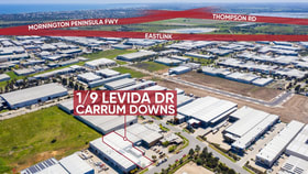 Shop & Retail commercial property for lease at 1/9 Levida Drive Carrum Downs VIC 3201