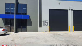 Factory, Warehouse & Industrial commercial property for lease at 15/13-19 Tariff Court Werribee VIC 3030