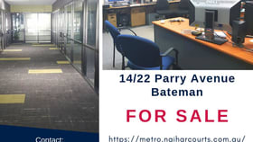 Offices commercial property for sale at 14/22 Parry Ave Bateman WA 6150