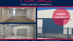 Factory, Warehouse & Industrial commercial property for sale at 5 Wallace Way Fremantle WA 6160