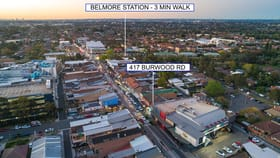 Development / Land commercial property for sale at 417 Burwood Road Belmore NSW 2192