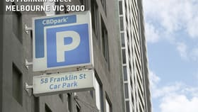 Parking / Car Space commercial property for sale at 819/58 Franklin Street Melbourne VIC 3000