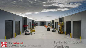 Factory, Warehouse & Industrial commercial property for sale at 14/13-19 Tariff Court Werribee VIC 3030