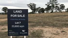 Factory, Warehouse & Industrial commercial property for sale at Lot 7 O'Hara Place Mount Thorley NSW 2330