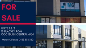 Offices commercial property for sale at Units 1-2/18 Blackly Row Cockburn Central WA 6164