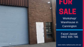 Factory, Warehouse & Industrial commercial property for sale at 8/45 Kent Street Cannington WA 6107