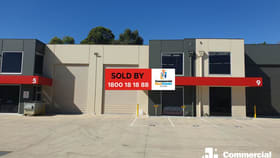 Factory, Warehouse & Industrial commercial property sold at Eustace Close Chirnside Park VIC 3116