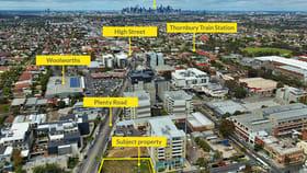Development / Land commercial property for sale at 73-77 Plenty Road Preston VIC 3072