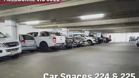 Parking / Car Space commercial property for sale at 224 & 225/58 Franklin Street Melbourne VIC 3000