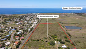Development / Land commercial property for sale at 61 Back Windermere Road Innes Park QLD 4670