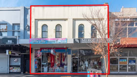 Shop & Retail commercial property for sale at 87 and 89 Nicholson Street Footscray VIC 3011