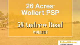 Development / Land commercial property for sale at 58 Andrew Road Wollert VIC 3750