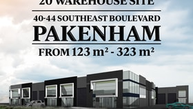 Showrooms / Bulky Goods commercial property for sale at Lot 10 40-44 Southeast Boulevard Pakenham VIC 3810