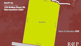 Rural / Farming commercial property for sale at 105 Boiling Down Road Warrnambool VIC 3280