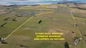 Rural / Farming commercial property for sale at 35 Port Road Montagu TAS 7330
