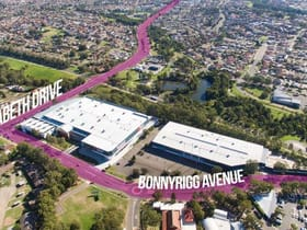 Showrooms / Bulky Goods commercial property for lease at Whole/21 Bonnyrigg Avenue Bonnyrigg NSW 2177