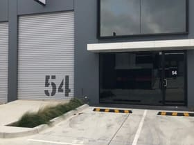 Industrial / Warehouse commercial property sold at 54/31-39 Norcal Road Nunawading VIC 3131