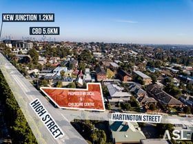 Medical / Consulting commercial property for lease at 463 High St and 1 & 3 Hartington  Street Kew VIC 3101