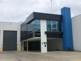 Industrial / Warehouse commercial property for lease at 1/22 Canterbury Road Braeside VIC 3195