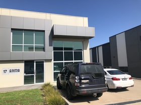 Factory, Warehouse & Industrial commercial property for lease at 17/5 Enterprise Way Rowville VIC 3178