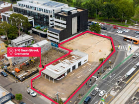 Retail commercial property for lease at 2-16 Swan Street Cremorne VIC 3121