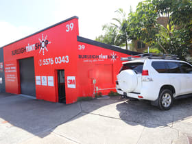 Industrial / Warehouse commercial property for lease at 1/39 West Burleigh Road Burleigh Heads QLD 4220