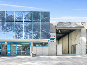 Factory, Warehouse & Industrial commercial property for lease at Unit  30/8 Victoria Avenue Castle Hill NSW 2154