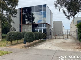 Factory, Warehouse & Industrial commercial property for lease at 8 Hartnett Close Mulgrave VIC 3170