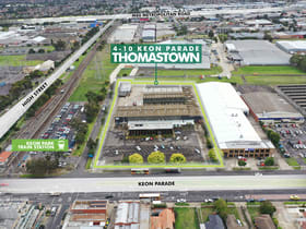 Factory, Warehouse & Industrial commercial property for lease at 4-10 Keon Parade Thomastown VIC 3074