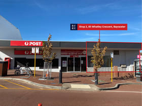 Shop & Retail commercial property for lease at Shop 2/85 Whatley Crescent Bayswater WA 6053