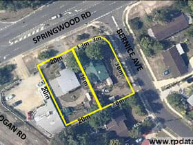 Development / Land commercial property for sale at .1 Bernice Ave & 3 Springwood Road Underwood QLD 4119
