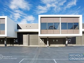 Factory, Warehouse & Industrial commercial property sold at 23/329 Bay Road Cheltenham VIC 3192