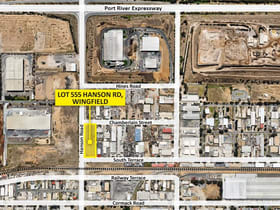 Industrial / Warehouse commercial property for sale at Lot 555 Hanson Road Wingfield SA 5013