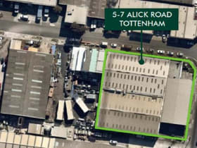 Factory, Warehouse & Industrial commercial property for sale at 5-7 Alick Road Tottenham VIC 3012