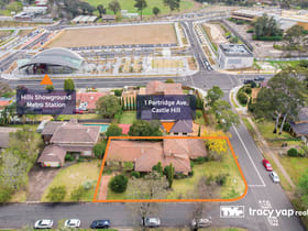 Development / Land commercial property sold at 1 Partridge Avenue Castle Hill NSW 2154