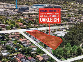 Development / Land commercial property for sale at 777-781 Warrigal Road and 1-9 Allen Street Oakleigh VIC 3166