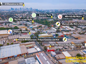 Industrial / Warehouse commercial property for sale at 138-140 Victoria Rd Marrickville NSW 2204