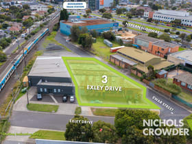 Development / Land commercial property for sale at 3 Exley Drive Moorabbin VIC 3189