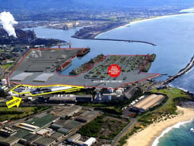 Industrial / Warehouse commercial property leased at 2 Foreshore Road Port Kembla NSW 2505