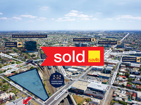 Development / Land commercial property sold at 2-52 Cowper Street Footscray VIC 3011