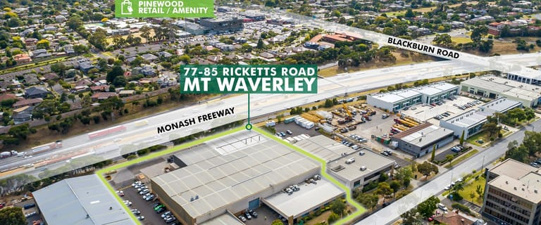 Offices commercial property for lease at 77-85 Ricketts Road Mount Waverley VIC 3149