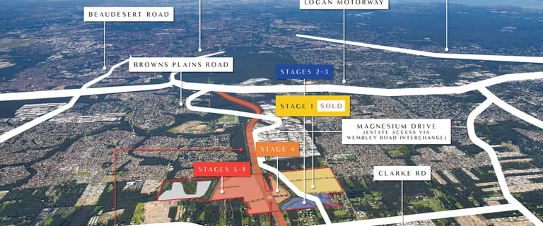 Factory, Warehouse & Industrial commercial property for sale at Crestmead/Logistics Estate Green Road Crestmead QLD 4132