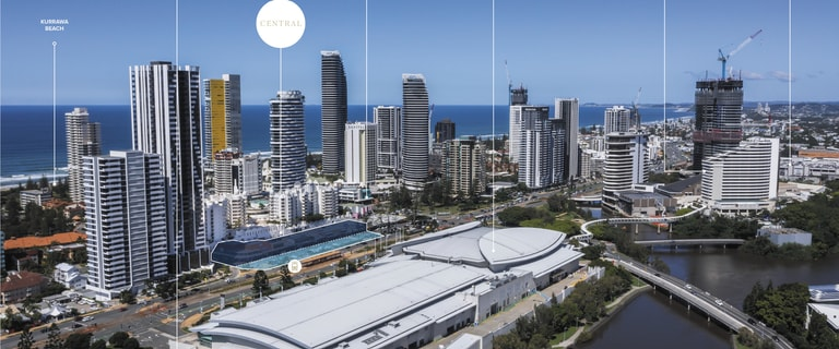 Development / Land commercial property for sale at 2709-2723 Gold Coast Highway Broadbeach QLD 4218