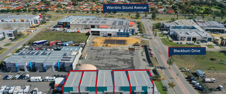 Factory, Warehouse & Industrial commercial property for sale at 1,2,4 & 5/10 Blackburn Drive Port Kennedy WA 6172