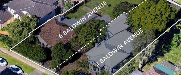 Development / Land commercial property for sale at 4-6 Baldwin Avenue Asquith NSW 2077