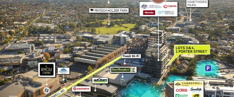 Offices commercial property for sale at Lots 3 and 4/1 Porter Street Camberwell VIC 3124
