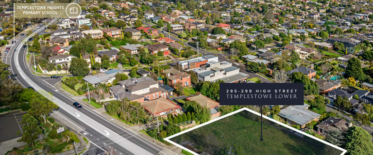 Development / Land commercial property for sale at 295-299 High Street Templestowe Lower VIC 3107