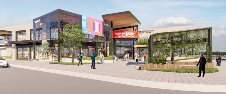 Retail commercial property for lease at Armstrong Creek Town Centre 458-540 Torquay Road Armstrong Creek VIC 3217